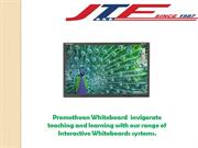 Promethean Whiteboards from JTF Business Systems