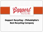 Geppert Recycling – Philadelphia's Best Recycling Company