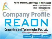 Reaon Consulting & Technologies Pvt. Ltd: A web solution company
