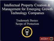 03-Trademark Basics Scope of Protection
