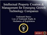 04-Trademark Basics Loss of Trademark Ri
