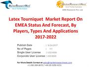 Latex Tourniquet  Market Report On EMEA Status And Forecast, By Player