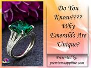 Do You Know Why Emeralds Are Unique?