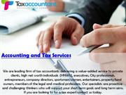 Accounting and Tax Services