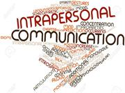 Intrapersonal Comm.