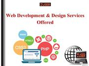 Web Development & Design Services Offered