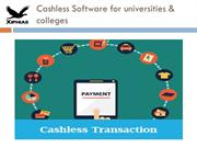 Cashless Software for universities & colleges