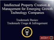 05-Trademark Basics Trademark Usage; Inf