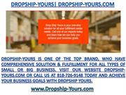 Dropship-yours  Dropship-yours.com Top Business Fulfillment Company