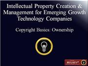 10-Copyright Basics Ownership