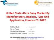 United States Data Buoy Market By Manufacturers, Regions, Type And App