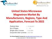 United States Microwave Magnetron Market By Manufacturers, Regions, Ty