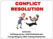 Conflict Resolution PP 2