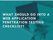 What is web application penetration testing?