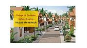 Things to consider before buying villas in Kerala