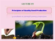 04 Principles of Seed Production