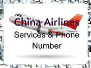 China Airlines Booking Phone Number | Reservation Number