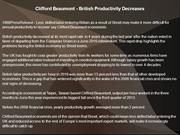 Clifford Beaumont - British Productivity Decreases