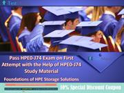 Get Valid HP HPE0-J74 Practice Test Questions Answers