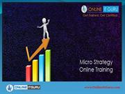 Microstrategy online training | Enroll for free demo