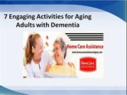 7 Engaging Activities for Aging Adults with Dementia