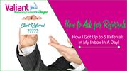 How to Ask for Referrals- How I Got Up to 5 Referrals in My Inbox In A