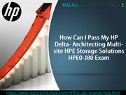 Get Real Exam Question And Answers For HP HPE0-J80