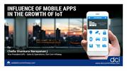 Webinar on Influence of Mobile Apps in the Growth of IoT