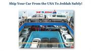 roro shipping to Jeddah