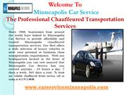 Point-to-point Car Service in Minneapolis