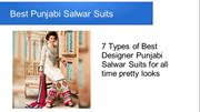 Best Punjabi Salwar Suits Buy Online