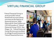 VIRTUAL FINANCIAL GROUP - CHOOSING A CAREER IN FINANCIAL