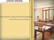 Jason Snook Antique and French Polishing