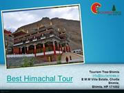Best Himachal Tour with tourism tree pvt ltd shimla