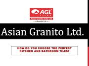 How do you choose the perfect kitchen and bathroom tiles