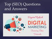 Top (SEO) Questions and Answers