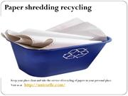 Recycling & Diversion service