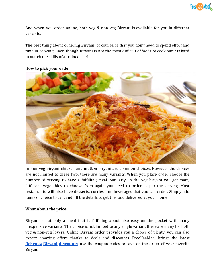 Pdfmouth watering biryani online value for money authorstream 3 forumfinder Image collections