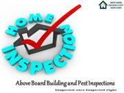 Home and Property Inspection in Melbourne