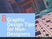 8 Graphic Design Tips For Non-Designers