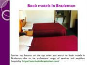 Affordable motels in Bradenton