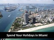 Enjoy an Exciting Holiday in Miami