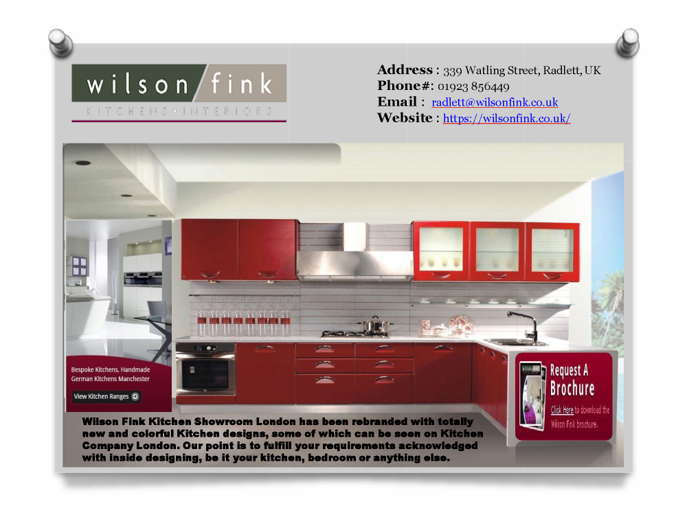 Best Kitchen Showroom In London Wilson Fink