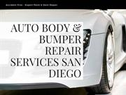 Auto Body Repair Services San Diego | Bumper Repair San Diego Ca