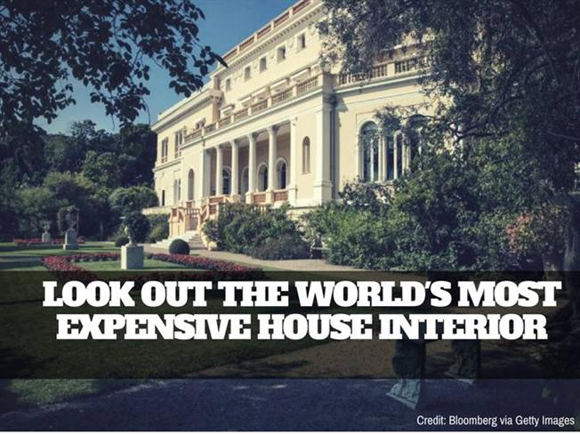 Look Out the World's Most Expensive House Interior | Newtoninex