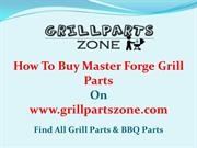 Master Forge BBQ Parts and Gas Grill Parts at Grill Parts Zone