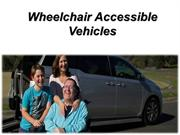 Wheelchair Access Vehicle