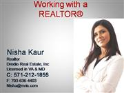 Why work with a Realtor (Virginia, Maryland & DC)