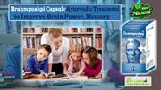 Brahmpushpi Capsule Ayurvedic Treatment to Improve Brain Power, Memory