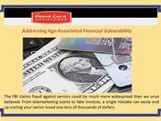 Addressing Age-Associated Financial Vulnerability